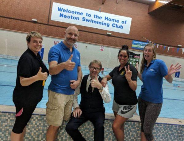Neston Swimming Club staff